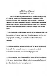 english teaching worksheets writing essays english worksheets the giver essay topics
