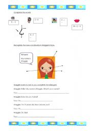 English Worksheets: your face