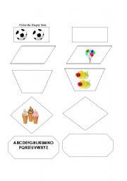 English Worksheets: Empty Sets