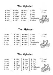 English worksheets: the alphabet worksheets, page 109