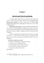 English Worksheets: adverrbs