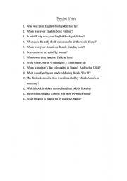 English Worksheets: Passive Voice Treasure Hunt