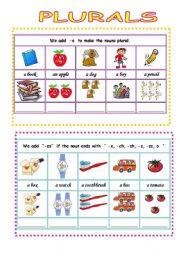 English Worksheets: plural