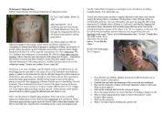 English Worksheets: Gangs