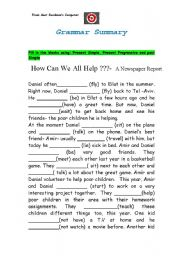 Free english grammar worksheets for 5th grade