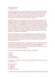 English Worksheets: toefl practice