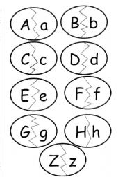 Capital letter_Lower Case Letter Matching Pairs_ 3 Pages