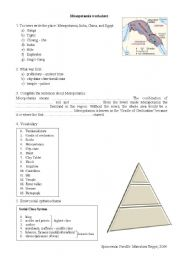 Printables Mesopotamia Worksheets english teaching worksheets mesopotamia mesopotamia