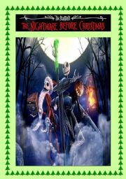 MOVIE ACTIVITY FOR CHRISTMAS - THE NIGHTMARE BEFORE CHRISTMAS (part 1) - 3 pages