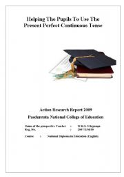 English Worksheets: My Action Research report