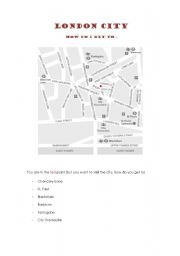London City - Giving Directions