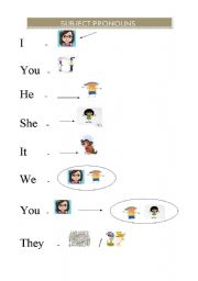 subject pronouns level elementary age 7 11 downloads 10 pronouns