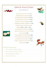 Fox Poem / Food Chain