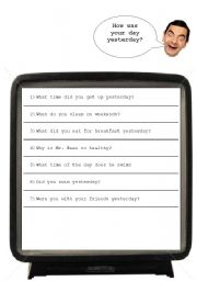English Worksheets: General questions