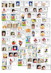 English Worksheets: motivational cards