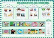English Worksheets: FUN WITH NOUNS - 1/2