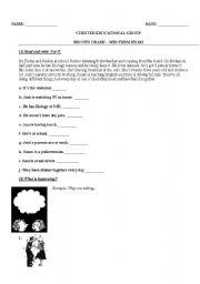 english worksheets present worksheets page 2170. Black Bedroom Furniture Sets. Home Design Ideas