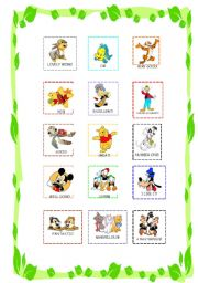 English Worksheet: Reward stickers for boys and girls
