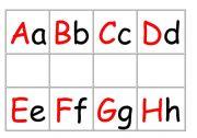 English Worksheets: ABC srripes- size editable.