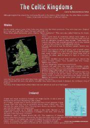 English Worksheets: THE CELTIC KINGDOM
