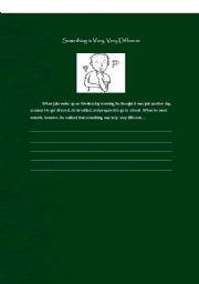 English Worksheets: WRITING ACTIVITY 3