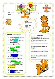 English Worksheets: Use of get