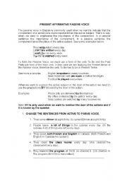 English Worksheets: voz pasiva