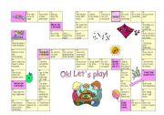 English Worksheet: Verb Tenses game
