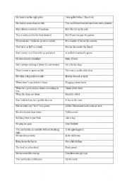 english worksheets british colloquial terms. Black Bedroom Furniture Sets. Home Design Ideas