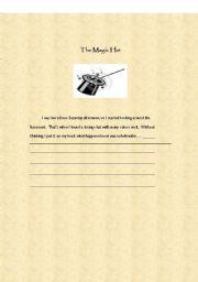 English Worksheets: WRITING ACTIVITY 5