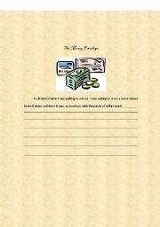 English Worksheets: WRITING ACTIVITY 6