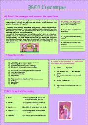 English Worksheets: Empathy