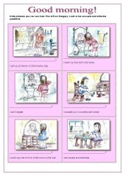 English Worksheets: Good morning