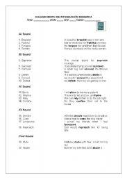 English Worksheets: workshop