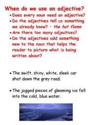 English Worksheets: adjectivos