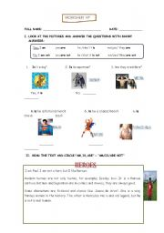 English Worksheets: Heroes