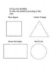 shapes for kids esl worksheet by. Black Bedroom Furniture Sets. Home Design Ideas