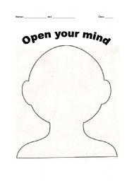 english worksheets open mind reading activity. Black Bedroom Furniture Sets. Home Design Ideas