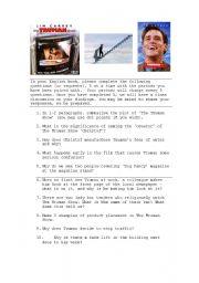 English Worksheets: The Truman Show Worksheet
