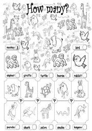 English worksheet: How many? (fruit) | how many worksheets ...