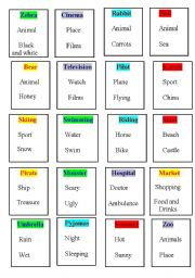 English Worksheets: taboo