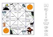 English Worksheets: Halloween Cootie Catcher
