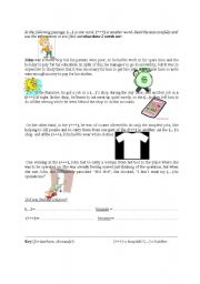 english teaching worksheets at the hospital. Black Bedroom Furniture Sets. Home Design Ideas