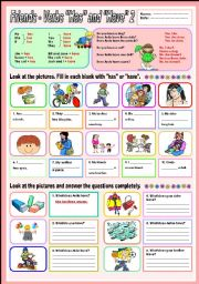 Friends - verbs (Has and Have) 2