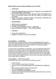 English Worksheets: modernism