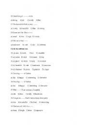 English Worksheets: skills