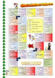 Direct & Indirect Object board game