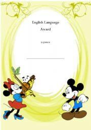 English Worksheets: ELAward3
