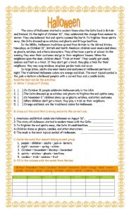 halloween history activities esl worksheet by andr iapinsan. Black Bedroom Furniture Sets. Home Design Ideas