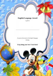 English Worksheets: ELAward5
